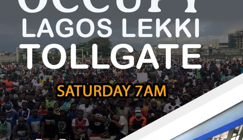 Occupy lekki protest to hold tommorrow