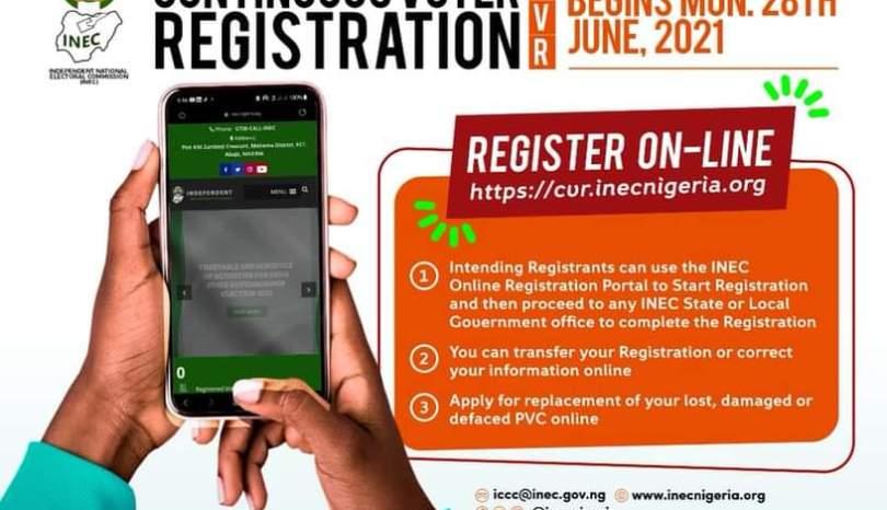INEC Voter Registration: Register now!