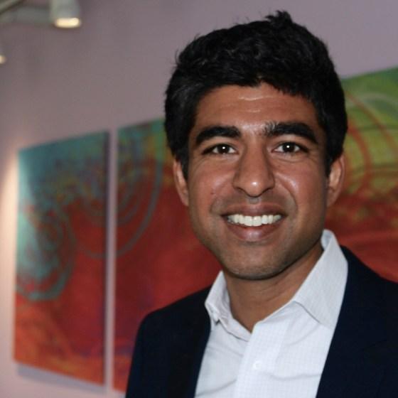 Dr. Neel Shah. Photo by Alexa Gagosz.