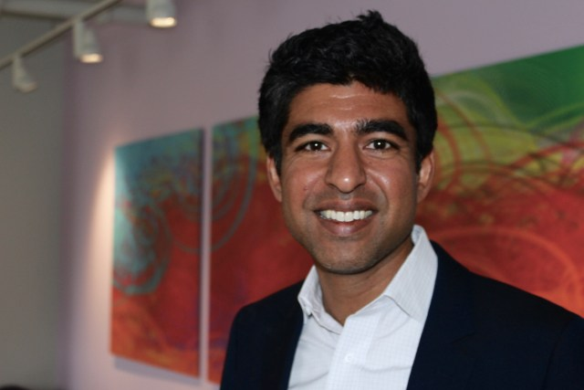 Dr. Neel Shah, obstetrician at Beth Israel Deaconess Medical Center and assistant professor of obstetrics at Harvard Medical School. Photo by Alexa Gagosz.