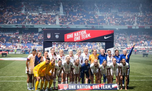 USWNT Have Eyes Set on World Cup Trophy
