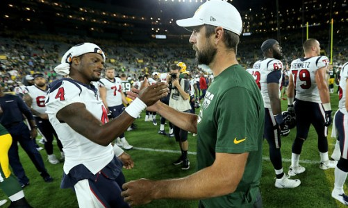 Fantasy Battle: Deshaun Watson vs Aaron Rodgers