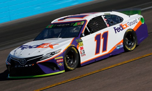 Denny Hamlin Snipes Final Four Spot In The Desert