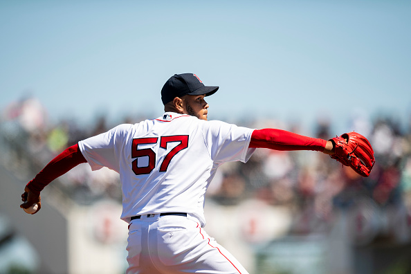 The new Boston Red Sox Ace, Eduardo Rodriguez