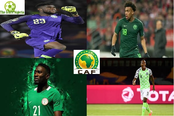 Uzoho, Iwobi, Ndidi, Ighalo make 2019 CAF African Team of the Year Nominees - see Full List
