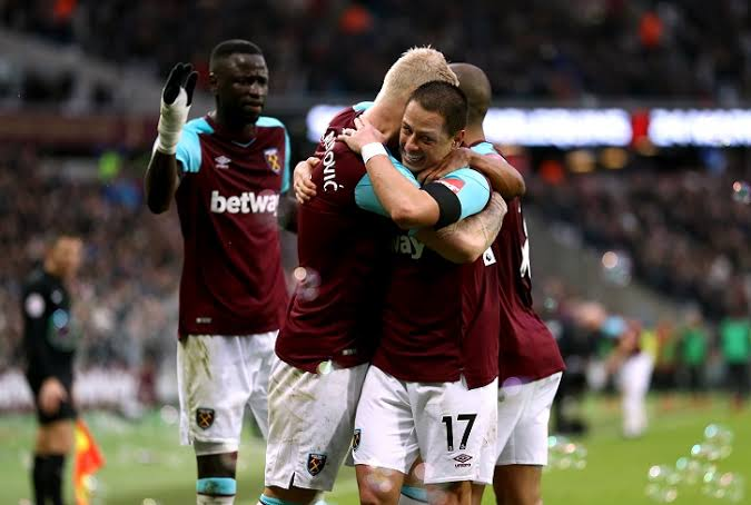 West Ham shock Chelsea 1 nil at home in EPL Matchday 14