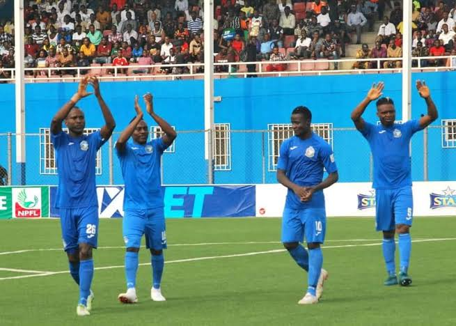 Enyimba of Aba and Enugu Rangers lost in the CAF Confederation Cup Group Stage game