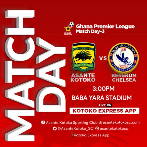 Asante Kotoko vs Berekum Chelsea: Squad News, Prediction, TV Channel, and How To Watch Live