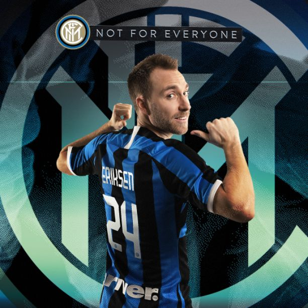 Done deal Inter Milan Completed Signing of Christian Eriksen from Tottenham