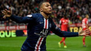 PSG Thrash Monaco 4-1 as Mbappe scores double