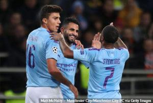 Aguero Scores Hat-trick, Mahrez Netted Twice As Man City Thrash Aston Villa 6-1