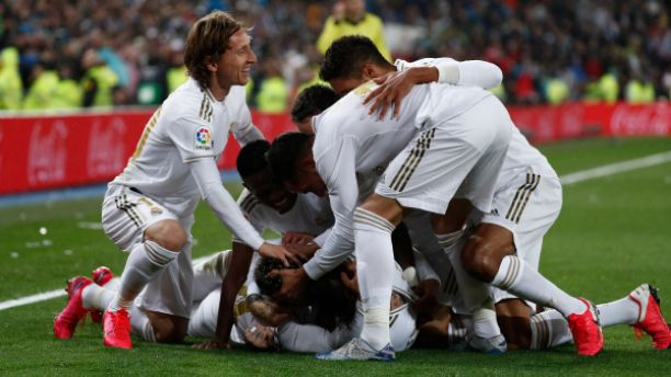 Real Madrid defeat Barcelona 2-0 to top LaLiga table with a point