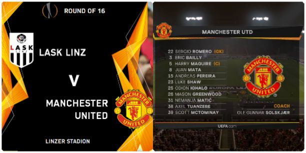 Watch LASK vs Manchester United Live Streaming