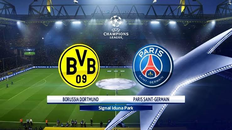Watch Paris Saint Germain vs Borussia Dortmund Live Streaming