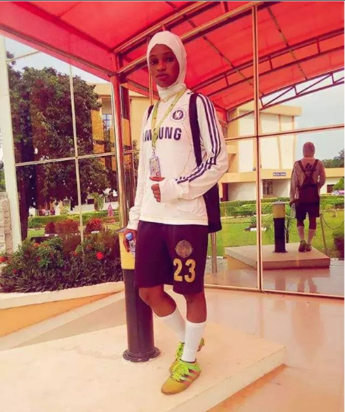 A 21-year-old Nigerian Starlet Narrates How Wearing Of Hijab End His Football Career