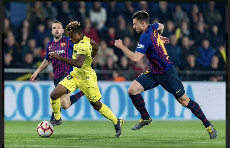 Samuel Chukwueze Rates As The Fastest Player In The Pitch
