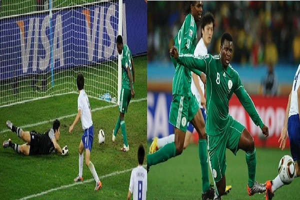 Yakubu Aiyegbeni clear air after missed a chance of the decade in World Cup 2010
