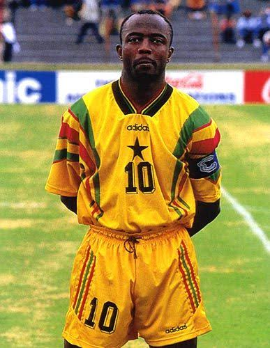 Former Ghana captain Abedi Pele ranked 4th greatest African footballer of all-time