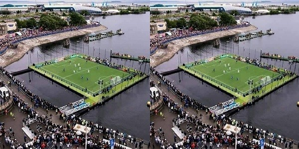 Angola The First African Nation To Build A Water Stadium