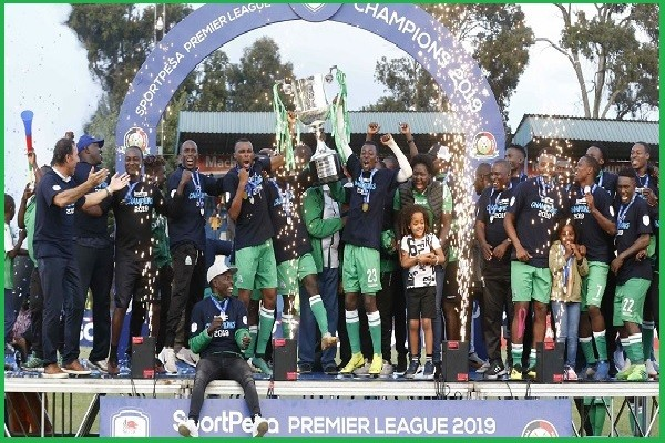 Gor Mahia Crowned Kenyan Premier League Champions, As League Canceled Due To COVID-19