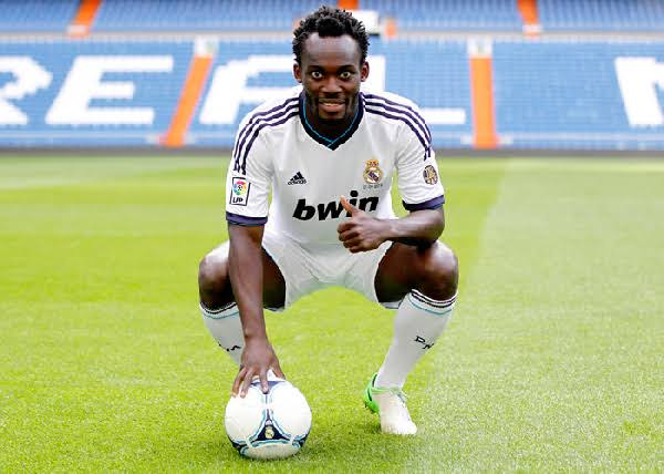 """I went to Real Madrid with just one jeans and one shirt - Michael Essien"