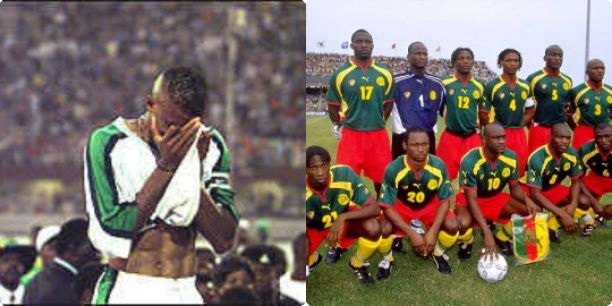 Sunday Oliseh reveals how Cameroon made him cry in 2000 AFCON final