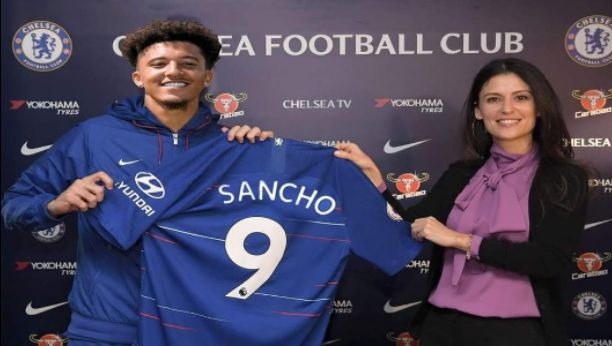 Chelsea Transfer News: Given Jadon Sancho Shirt Number 9 in Chelsea Will Spark Stir after Completed Signing