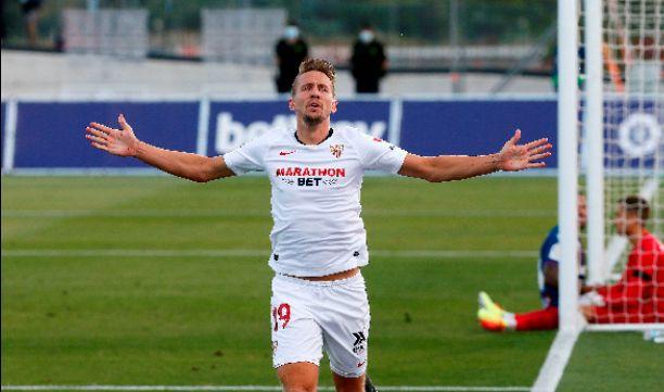 LIVE: Levante UD 0-1 Sevilla, Luuk De Jong scores his first goal for Sevilla