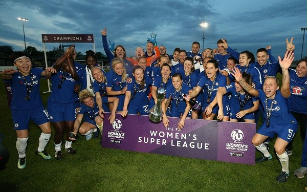 Chelsea FC Women Crowned WSL Champions
