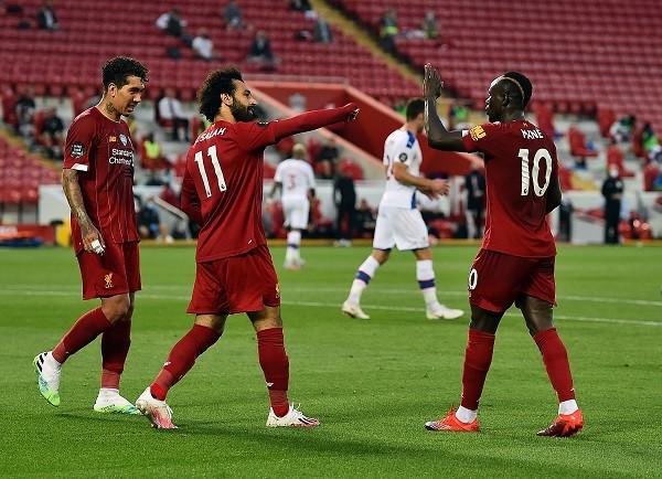 Liverpool 4-0 Crystal Palace: Alexander-Arnold, Fabinho, Salah, Mane score for Reds