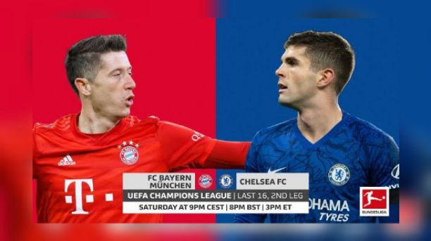 Bayern Munich vs Chelsea Line Up, Live Stream, TV Channel & The Score