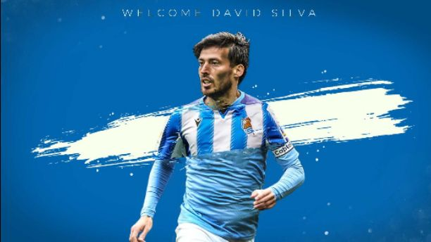 Real Sociedad Announces Signing of David Silva From Manchester City