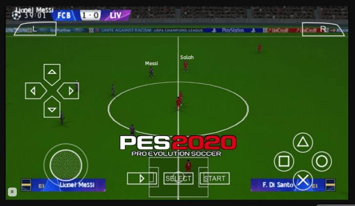 PES 2020 PPSSPP – PES 2020 PSP ISO File English free Download