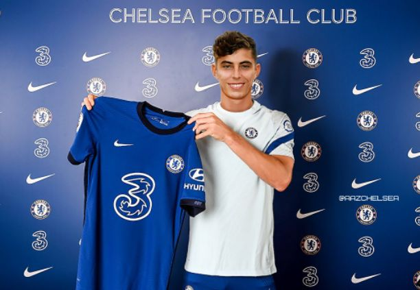 Kai Havertz to join Chelsea squad this week after the UEFA Nations League