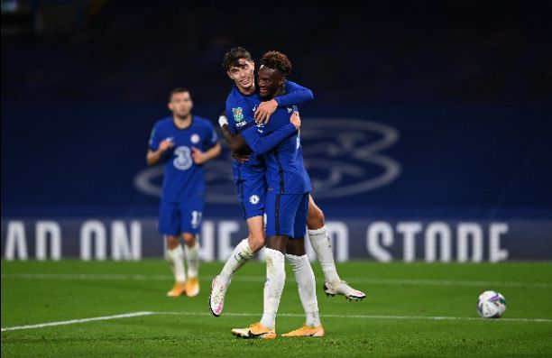Kai Havertz scores his first goal for Chelsea