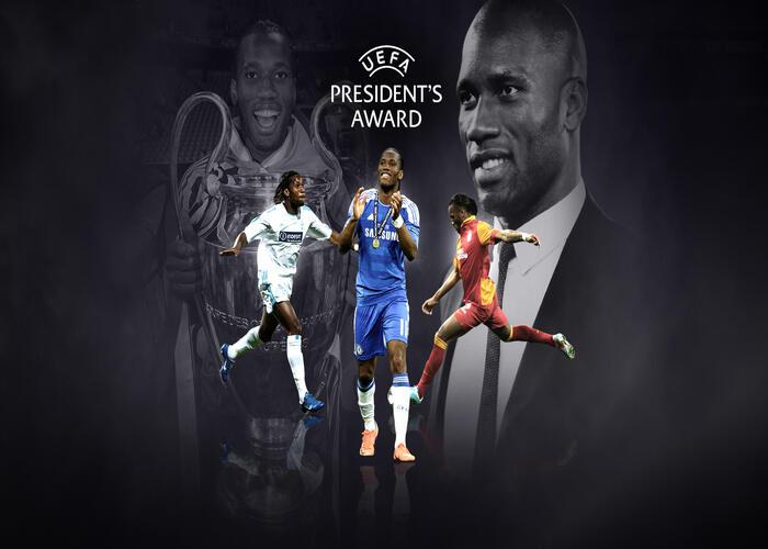 Didier Drogba Wins 2020 UEFA President's Award