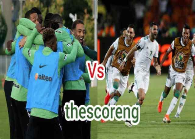 Nigeria vs Algeria Head to Head Stats, Starting XI Lineup and Venue