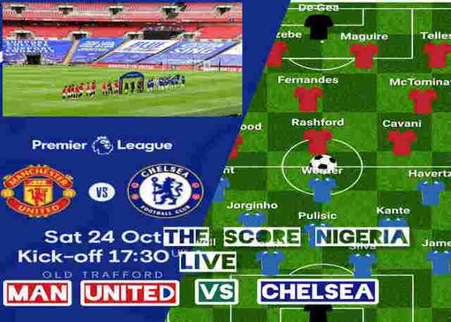 Manchester United vs Chelsea Lineup, Kick Off Time, Team News, and TV Channel