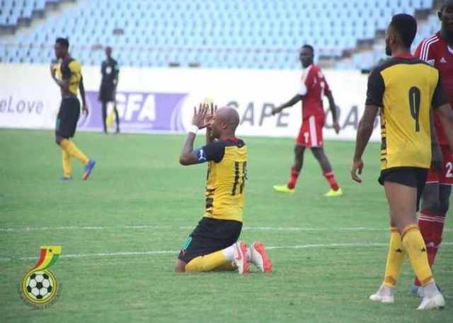 Andre Ayew scores twice to help Ghana beat Sudan 2-0 in AFCON qualifiers