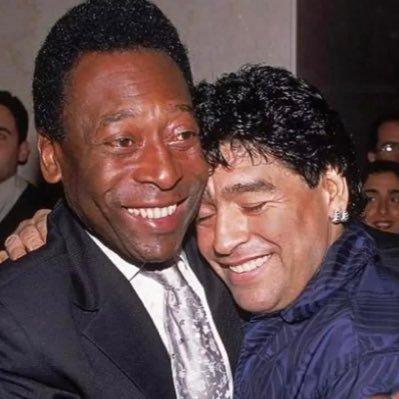 Pele pay tribute to Diego Armando Maradona with emotional message