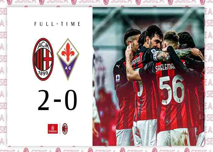 AC Milan 2-0 Fiorentina: Milan extend lead at top of the table with comfortable victory