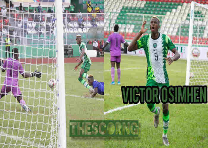 Victor Osimhen miss out of Sierra Leone vs Nigeria AFCON qualifier in Freetown