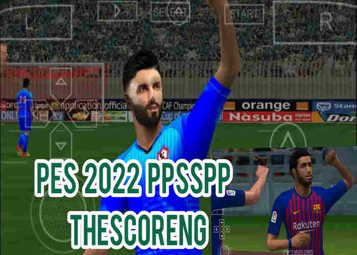 Download PES 2022 PPSSPP, PES 2022 PSP Iso File English (PS4 Camera) for Android