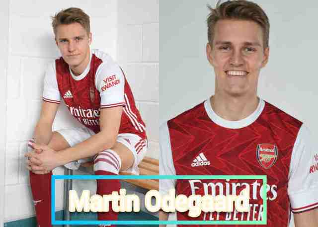 Arsenal new signing Martin Odegaard resumes training