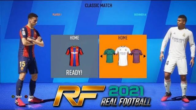 Download and Install Real Football 2021 (RF 21) APK Mod Offline
