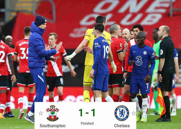 Southampton 1-1 Chelsea: Minamino scores spectacular goal as Mount level score line for Thomas Tuchel's side