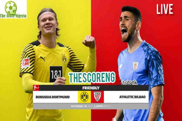 Borussia Dortmund vs Athletic Bilbao Live Stream, Prediction, Kick Off Time, Head to Head Stats, Lineup & TV Channel