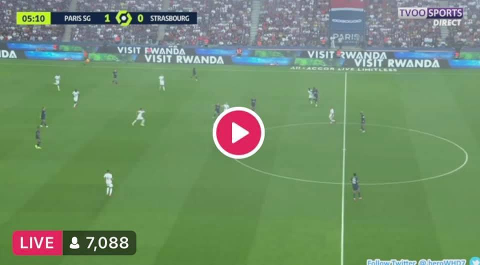 Watch PSG vs Strasbourg Live Streaming