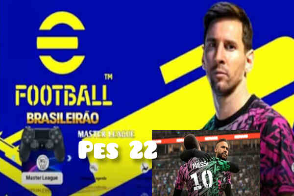 Download eFOOTBALL PES 2022 PPSSPP Messi To PSG Offline New Update On Android