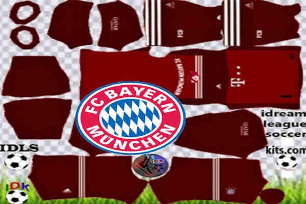 Download Bayern Munich DLS Kits 2022 – Dream League Soccer 2022 Kits & Logo